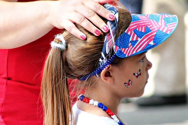 #34 Patriotic American Girl